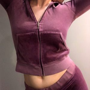*SOLD*💜 JUICY COUTURE PURPLE TRACKSUIT 💜